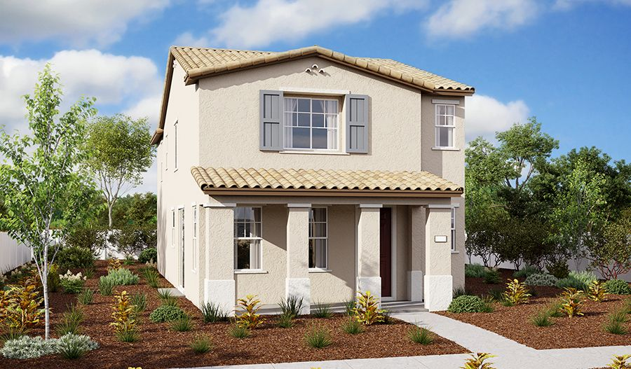 Elsie-S856-BlossomAtWildroseVillage Elevation A:The Elsie - Elevation A