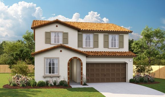 Pearl-S913-OlivineAtTerramor Elevation A:The Pearl - Elevation A