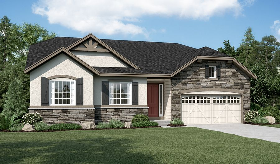 Delaney-D22D-ReserveCobblestoneRanch Elevation C:The Delaney - Elevation C