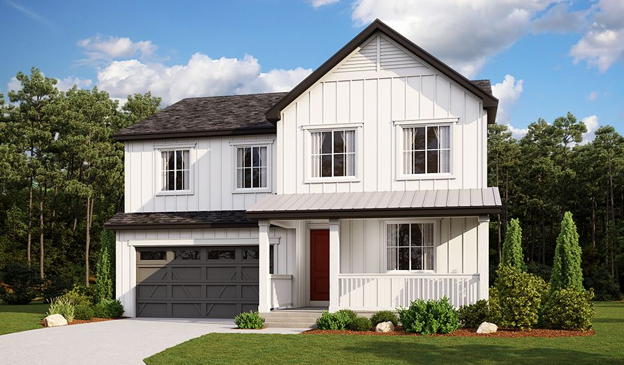 Holston-D670-AscentVillageAtSterlingRanch Elevation A:The Holston - Elevation A