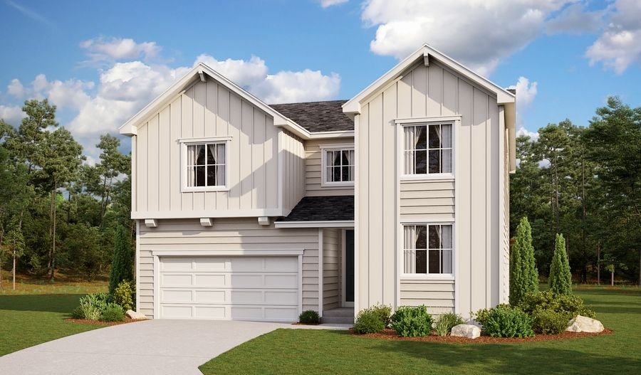 Coronado-D723-BradleyRanch Elevation A:The Coronado - Elevation A
