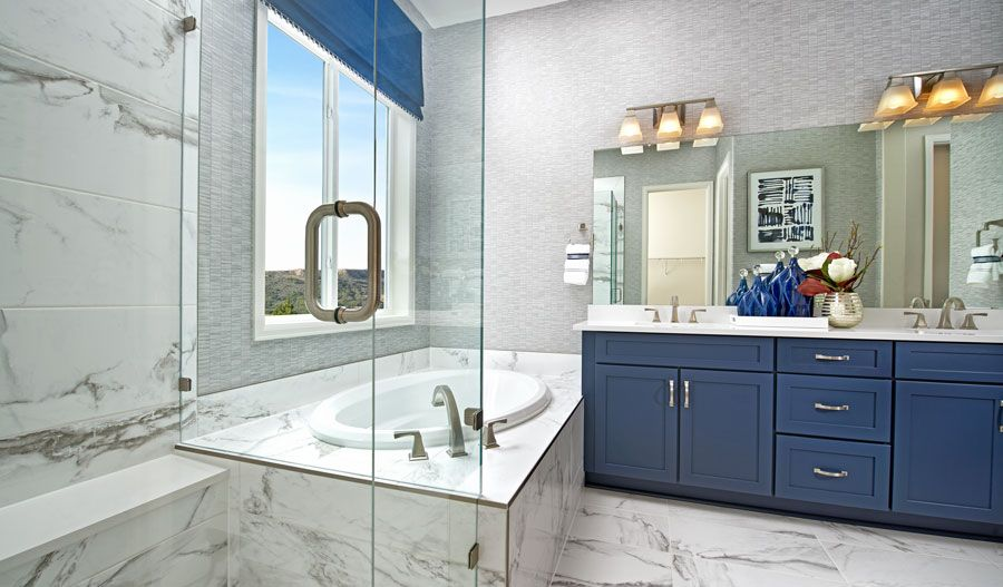 TheLandingAtCobblestoneRanch-CSP-Decker Owner's Bathroom:The Decker
