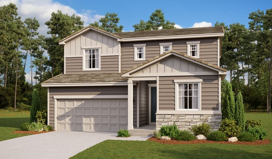 Citrine-R904-BradleyRanch Elevation A:The Citrine - Elevation A