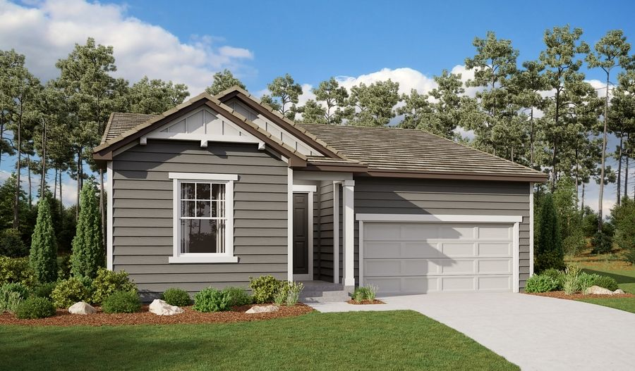 Alexandrite-D921-BradleyRanch Elevation A:The Alexandrite - Elevation A