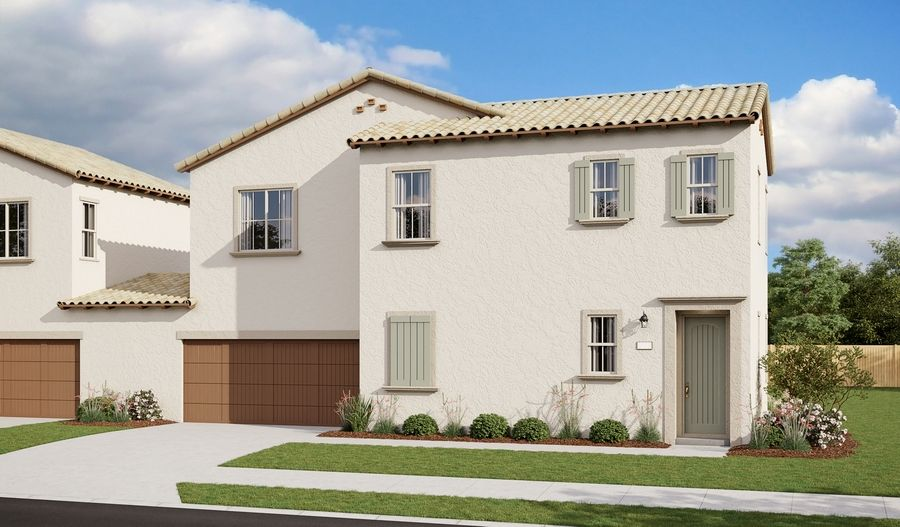 Noell-S882-GardensideAtThePreserve Elevation A:The Noell Elevation A