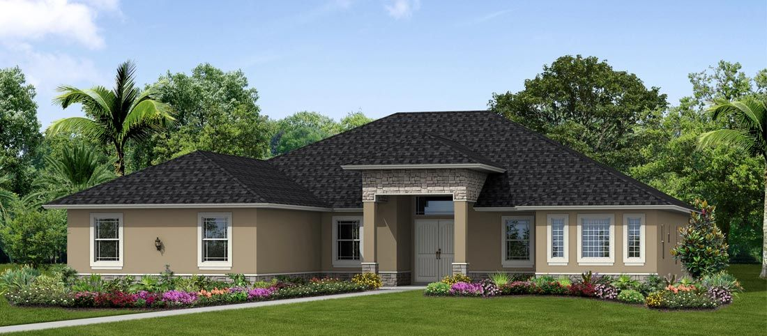 The Emerald:4 Bedrooms, Office, Game Room, & 3.5 Bathrooms