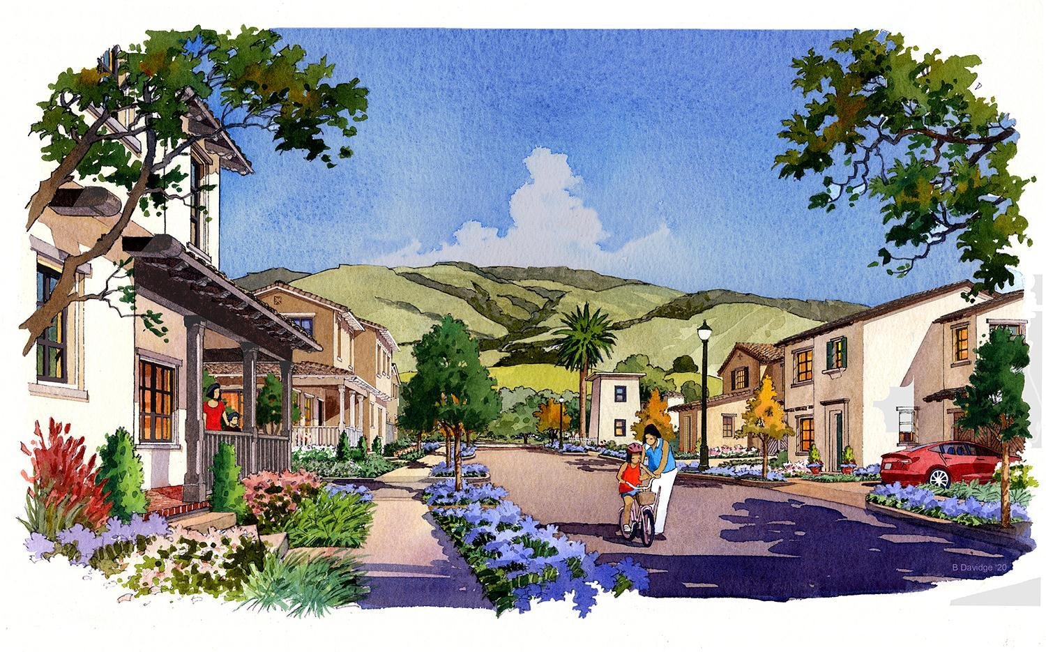Heirloom by Robson Homes:17 new homes & 1 historic home designed along a single cul de sac