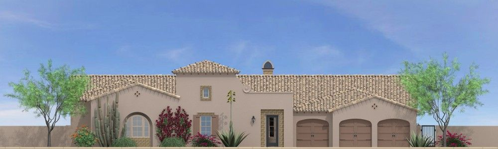 Residence Five:Spanish Colonial