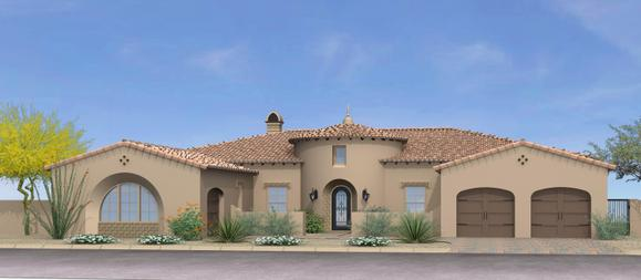 Residence One:Spanish Colonial