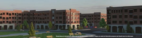 Bengal Townes at Bengal Towne Center Rendering. Renderings are conceptual in nature and merely an...:Images and renderings are solely for illustrative purposes and should never be relied upon.