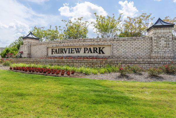 Fairview Park, Cary, Mattamy Homes, Community Entrance