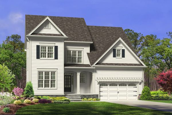 Royal Oaks a Division of Mattamy Homes, Mattamy Homes, The Ocracoke, Bent Tree, Single-Family, 3-...:Bent Tree   Homesite 67   1213 Valley Dale Drive