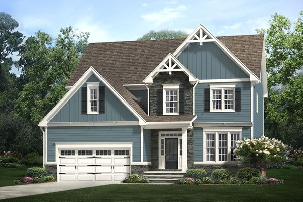 The Camellia - Front Rendering