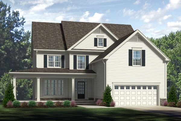 Bent Tree - The Edenton | Exterior Rendering