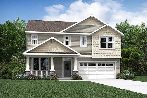 The Logan - Craftsman Elevation - Spirit Series:The Logan - Craftsman Elevation - Spirit | Images of the home are for illustrative purposes only an