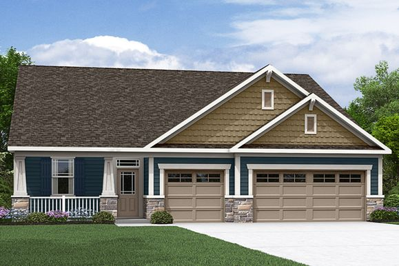 The Hamilton - Craftsman Elevation - Trademark Series - Mattamy Homes:The Hamilton - Craftsman Elevation - Trademark   Images of the home are for illustrative purposes o
