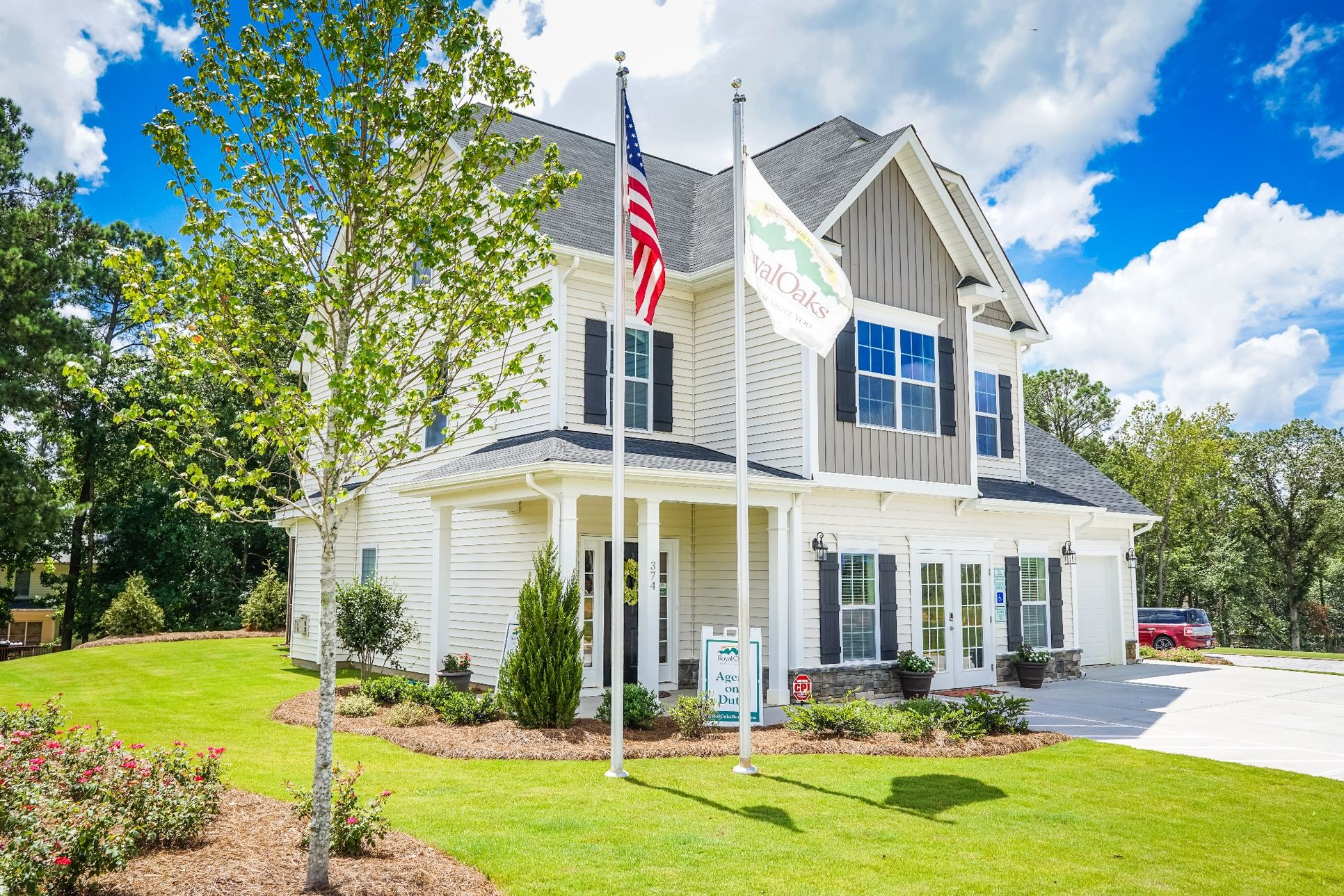 Bristol model home in Clayton NC by Royal Oaks Homes