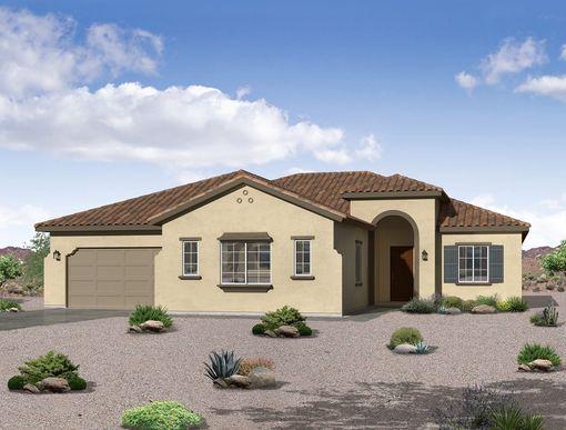 Spanish exterior elevation rendering Joyce floor plan William Ryan Homes Phoenix:Joyce - Spanish