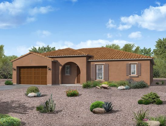 Vela floor plan spanish elevation William Ryan Homes Phoenix:Vela - Spanish Elevation