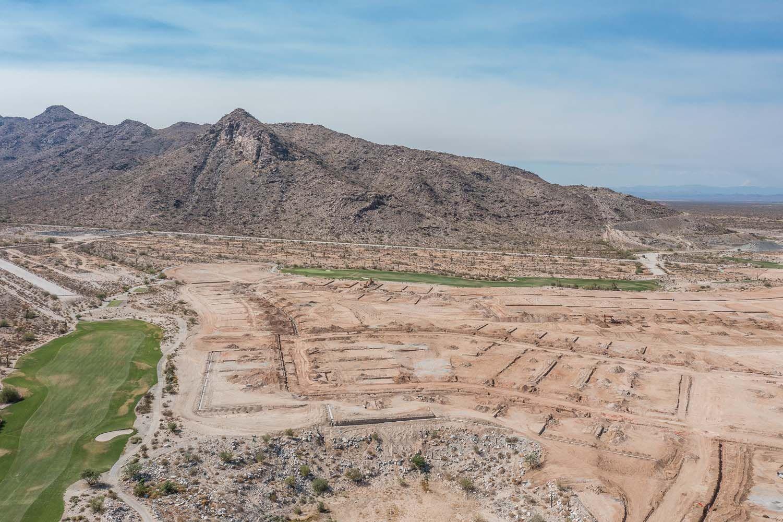 Fairways in Victory at Verrado aerial view of land in Buckeye Arizona by William Ryan Homes Phoenix:Fairways in Victory at Verrado - Aerial View 1 - Coming Soon!