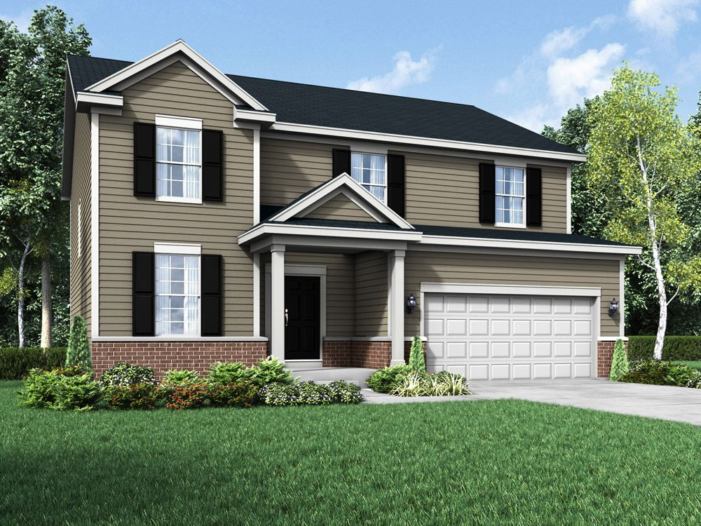 Williamsburg exterior elevation rendering Sulton by William Ryan Homes:Sulton - Williamsburg