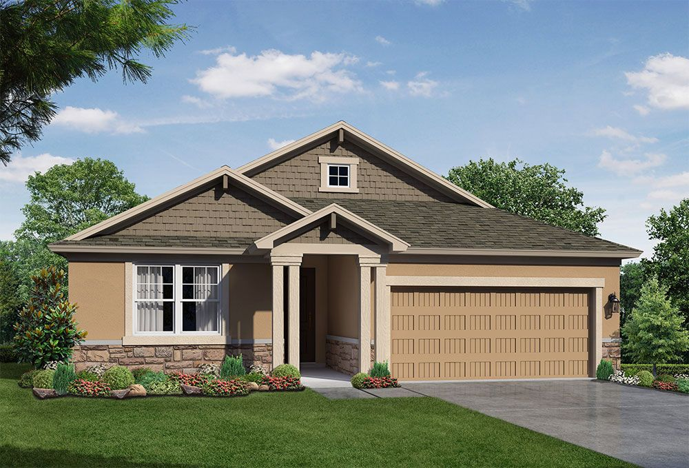 Juno Coastal elevation William Ryan Homes Tampa:Juno - Coastal Elevation