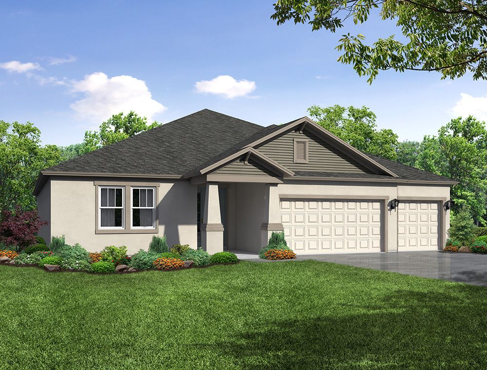 Sweet Bay Coastal elevation William Ryan Homes Tampa:Sweet Bay - Coastal Elevation