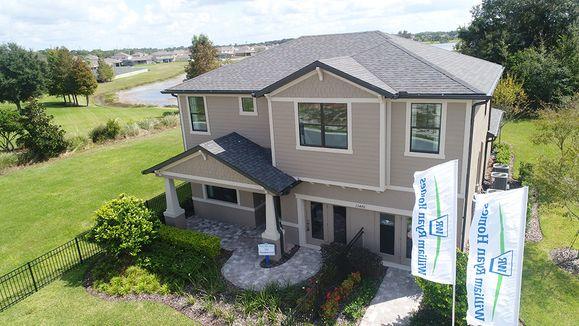 Lakeside Sandalwood model home new homes for sale in Hudson FL William Ryan Homes Tampa:Lakeside - New Home Community - Sandalwood Model Home