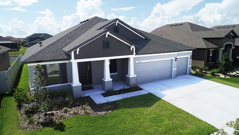 Barrington at South Fork Jensen craftsman elevation last new home for sale by William Ryan Homes ...:Barrington at South Fork - Jensen - Craftsman Elevation
