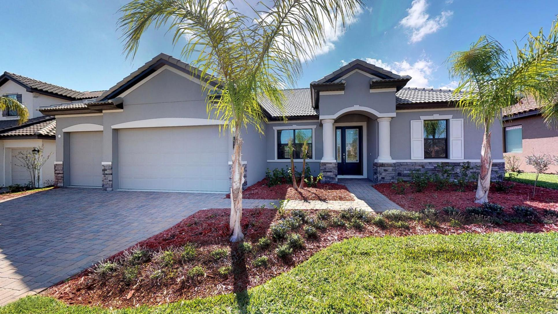 Cross Creek new single family homes for sale in Parrish FL the Carlingford by William Ryan Homes ...:Cross Creek - New Homes for Sale in Parrish, FL by William Ryan Homes - The Carlingford