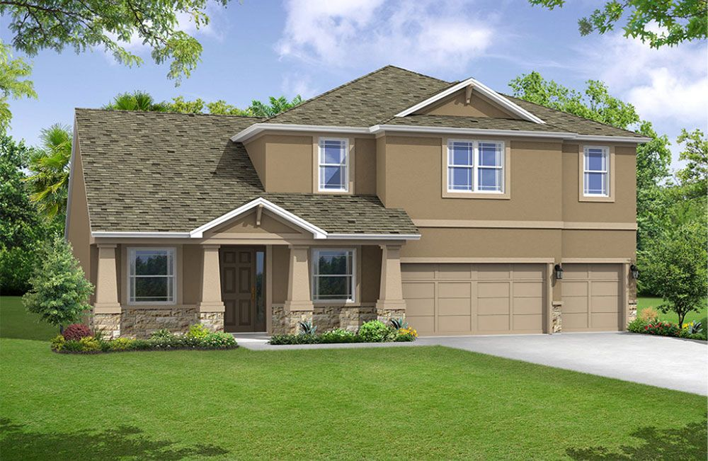 Jeppeson elevation 3 William Ryan Homes Tampa:Jeppeson - Elevation 3
