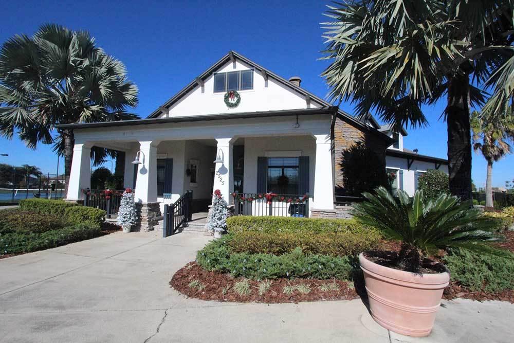 William Ryan Homes at BridgeWater in Lakeland Florida community clubhouse entry:William Ryan Homes at BridgeWater - Lakeland, Florida - Community Clubhouse Entry