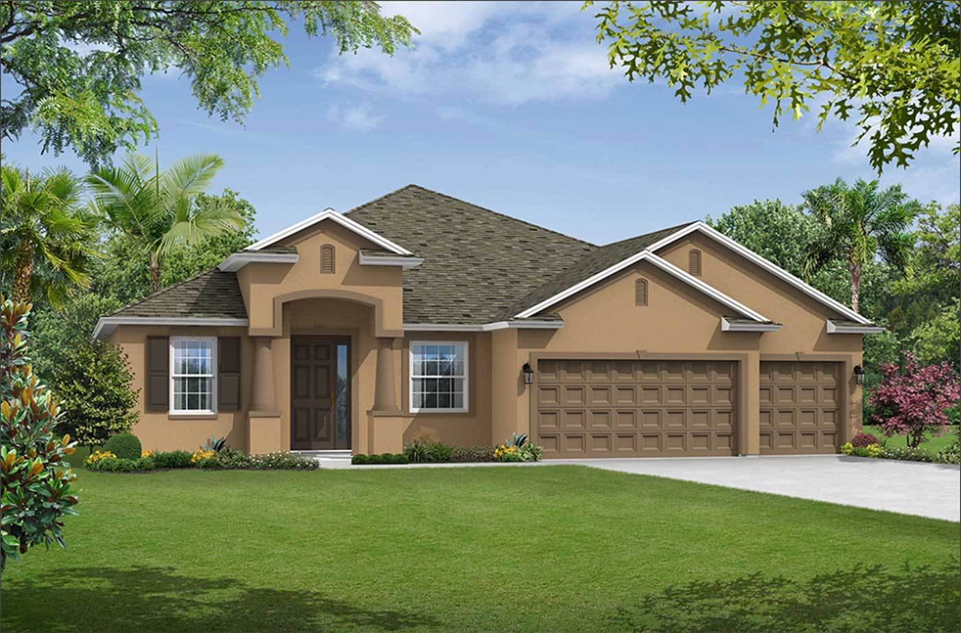 3921 Salida DelSol Drive Sun City Center FL 33573 new construction home for sale William Ryan Hom...:3921 Salida DelSol Drive - Jensen - New Construction Home for Sale - Ruskin / Sun City Center, FL