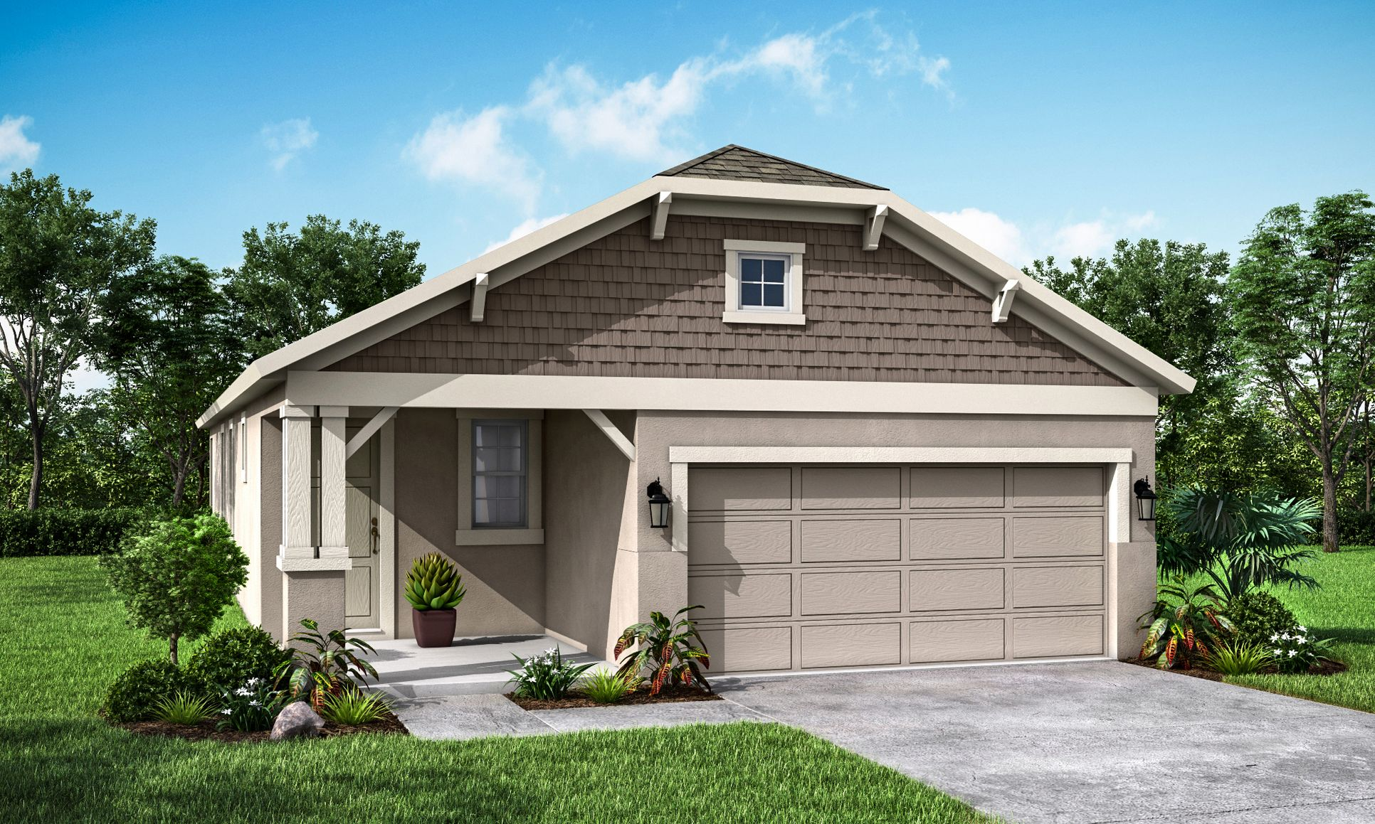 """Flora English Country Elevation """"A"""" -William Ryan Homes:Flora English Country- Elevation """"A"""""""