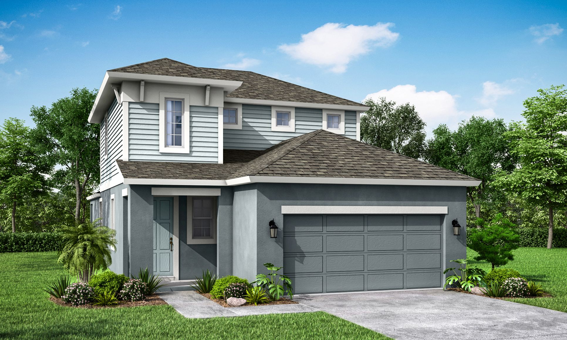 "Jade Coastal ""A"" - William Ryan Homes Tampa:Jade Coastal ""A"" - Only at Bridgewater"