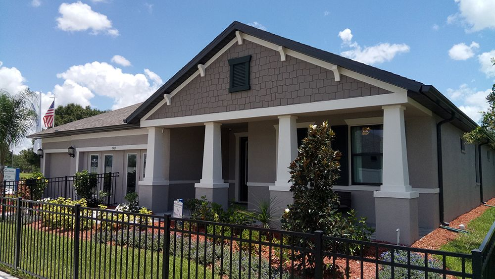 Sweet Bay model home new homes for sale Villa d Este in the Villages at Cypress Creek Sun City Ce...
