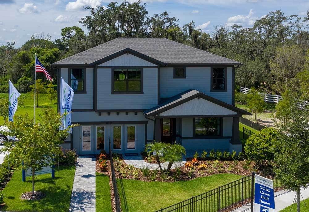 Paddock Manor Sandalwood model home new homes for sale in Riverview FL by William Ryan Homes Tampa