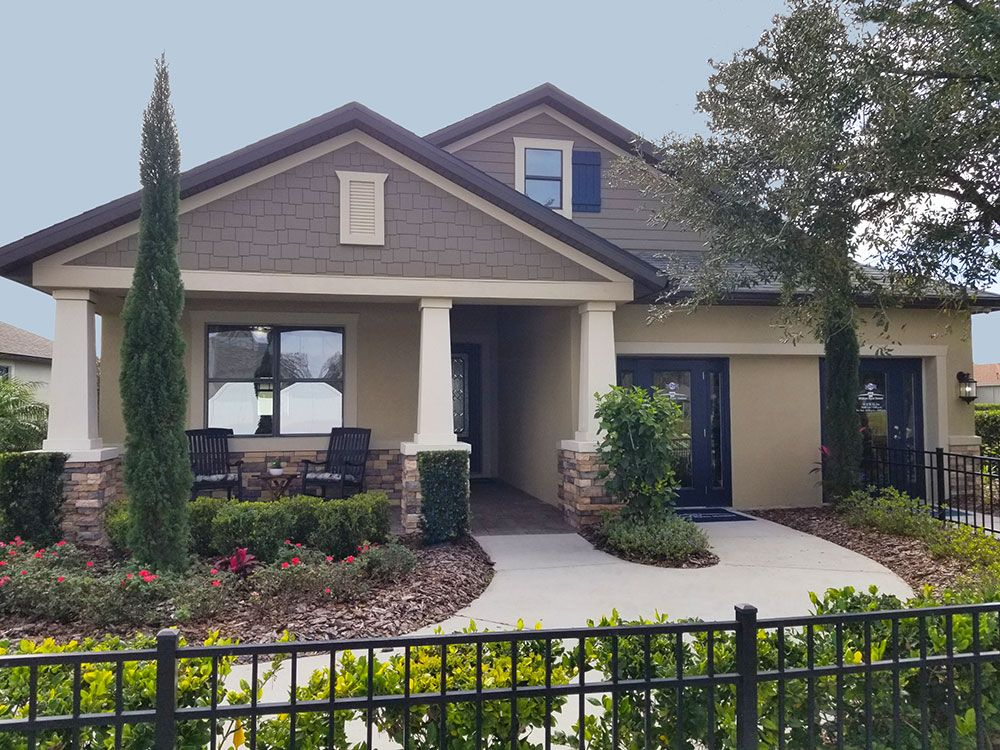 Sweetwater model home at LakeShore Ranch in Land O Lakes FL by William Ryan Homes Tampa