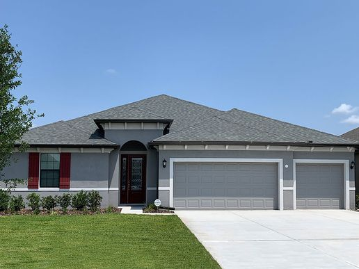 Sweet Bay new home with 3 car garage offered at Somerton Place in the Villages of Avalon William ...