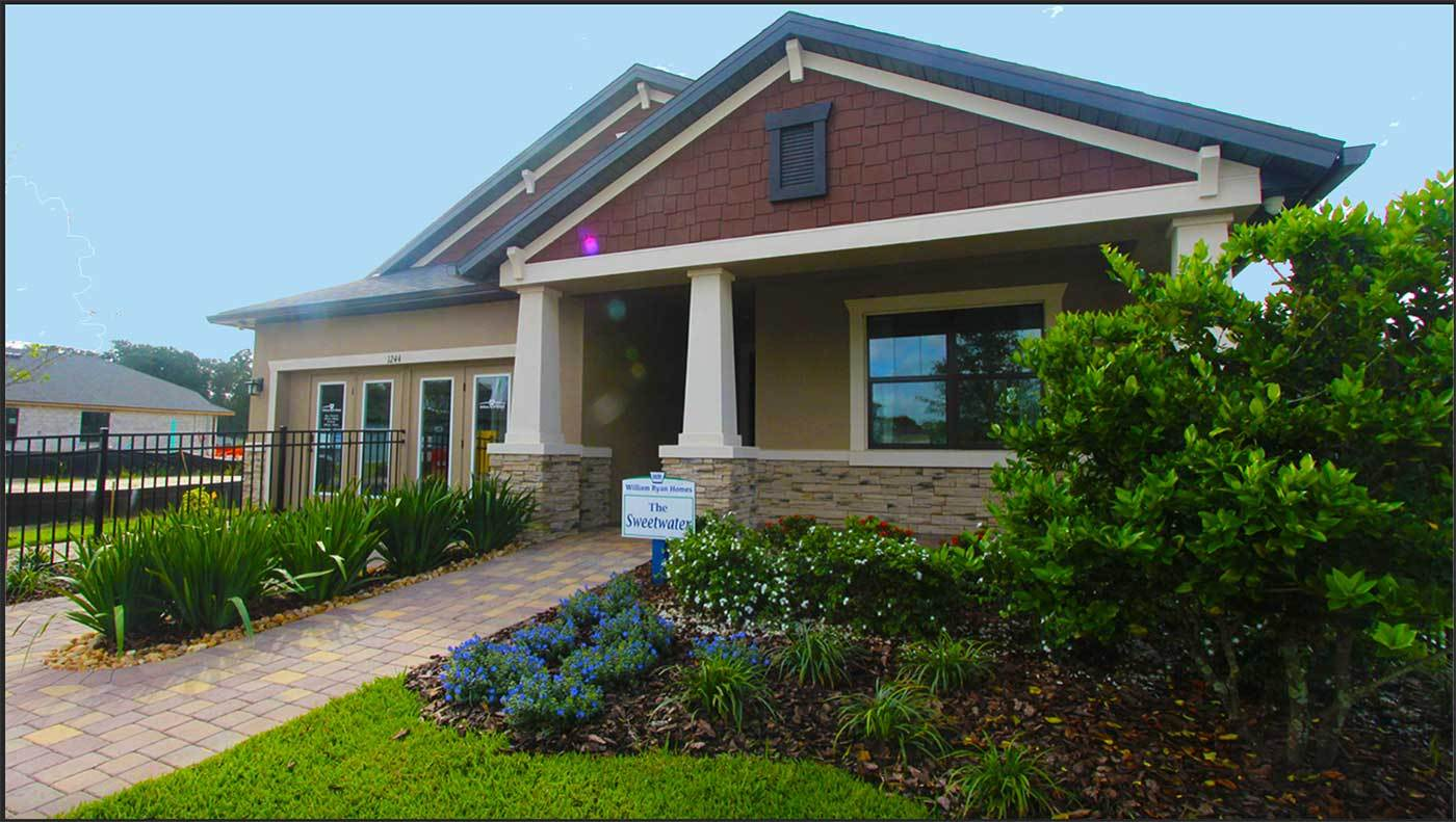 FloraBlu Estates new homes for sale in Seffner FL Sweetwater model home now open William Ryan Hom...