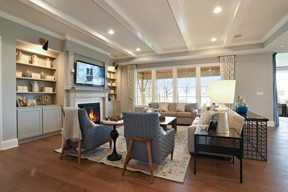 Westleigh Farm Model Home - Great Room:First Floor - Great Room  - View 2