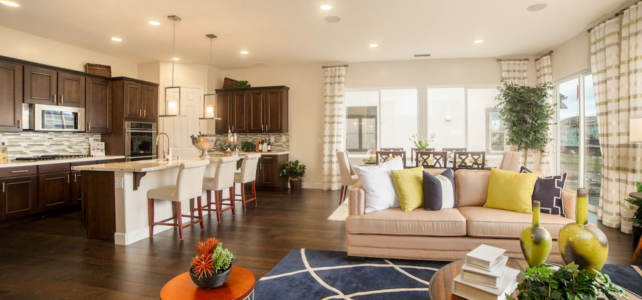 Plan 4:Open concept great room/kitchen combo