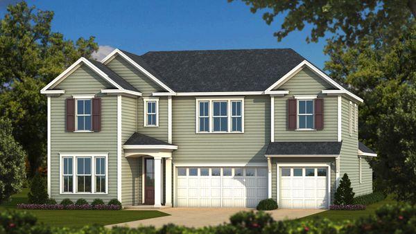 Wilmington Elevation A Traditional :Sabal Homes South Carolina Homebuilder