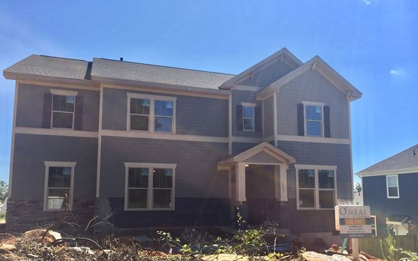 The Oconee Craftsman Elevation D
