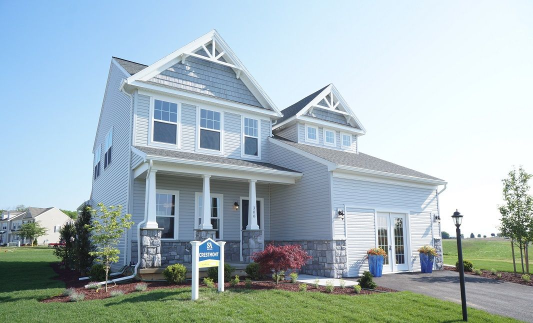 The Crestmont:Elevation C - Model Home in Shippensburg