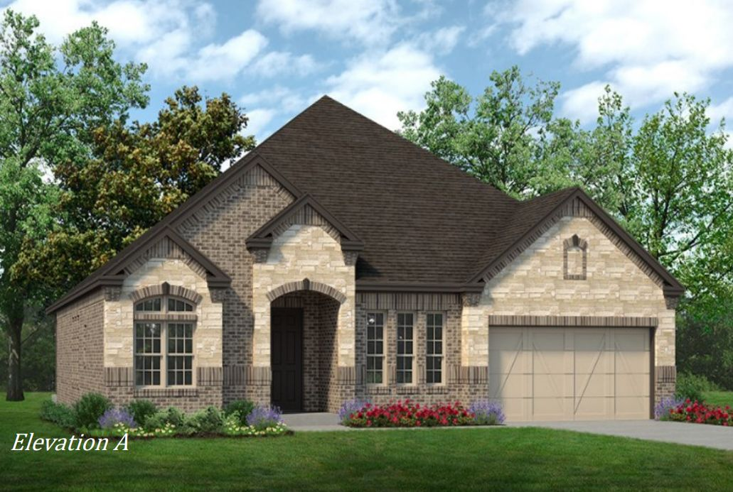 The Bellaire:Elevation A