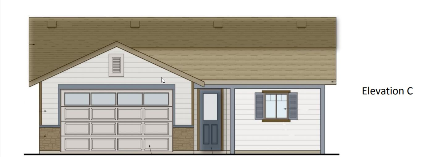 Plan 1:Elevation C