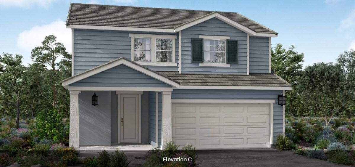 Residence 1:Elevation C