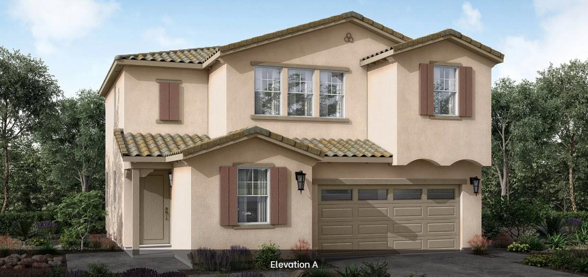 Residence 3:Elevation A