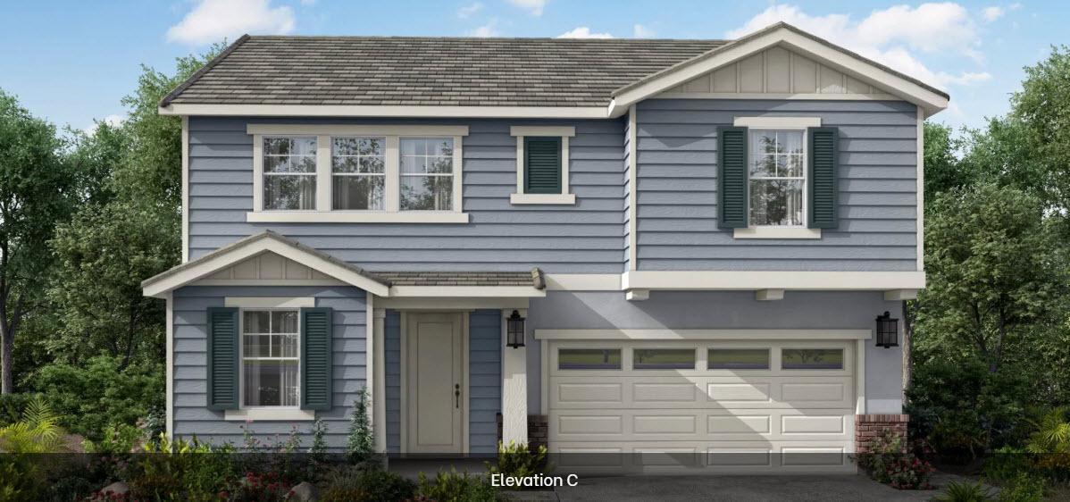 Residence 4:Elevation C